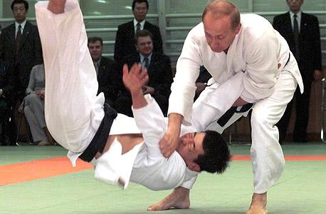 ולדימיר פוטין. חגורה שחורה בג'ודו