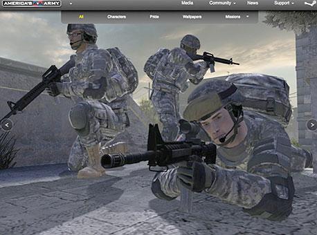לגייס מגויסים: משחק הגיוס שפיתחה America