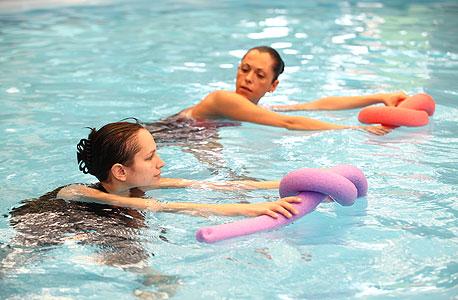 אימון אישי: יותר כיף במים