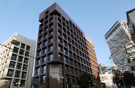 יעבץ 33 בתל אביב המשרדים החדשים של נוחי דנקנר, צילום: עמית שעל