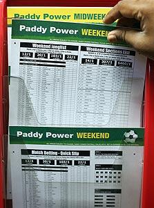 טופס הימורי ספורט באירלנד