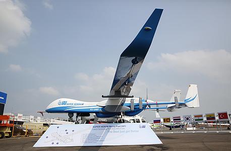 """מל""""ט סופר הרון של התעשייה האווירית, צילום: התעשייה האווירית לישראל בע""""מ"""
