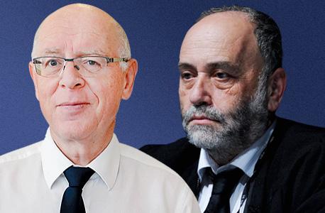 נאמני בית החולים, עורכי הדין אשר אקסלרד (מימין) וליפא מאיר