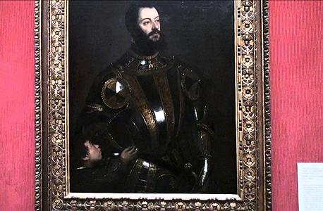 פורטרט של אלפונסו ד'אבאלו