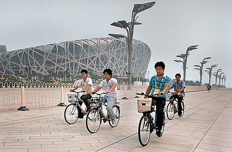 רוכבי אופניים בבייג
