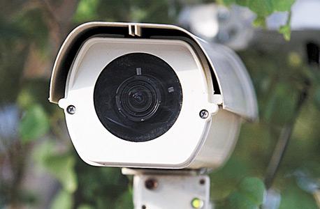 מצלמת אבטחה בשכונת צהלה