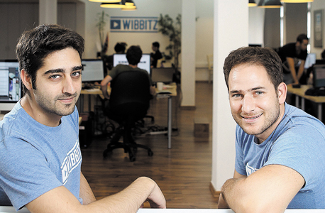 Left to right: Wibbitz Co-founders Zohar Dayan and Yotam Cohen