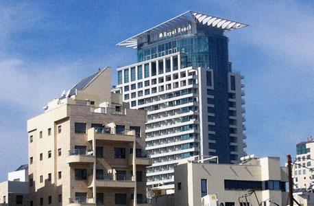 מלון רויאל ביץ׳,  ברחוב הירקון בתל אביב