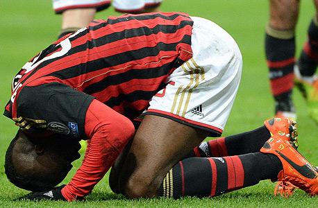 מריו באלוטלי סובל מפציעה. כל השחקנים חווים ירידה בביצועים בחצי השנה השנייה, צילום: אי פי איי