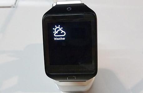 G10 שעון חכם סמסונג גיר 2 Fit, צילום: עומר כביר