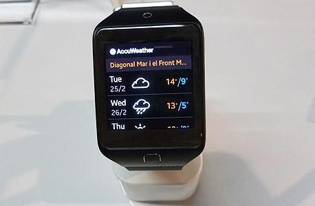 G11 שעון חכם סמסונג גיר 2 Fit, צילום: עומר כביר
