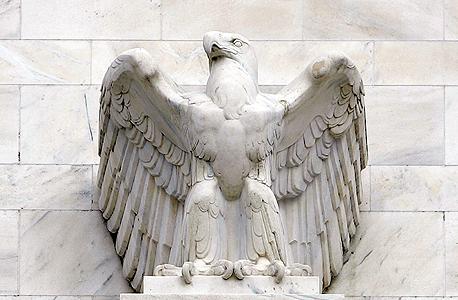 פסל הנשר בבניין הפדרל ריזרב