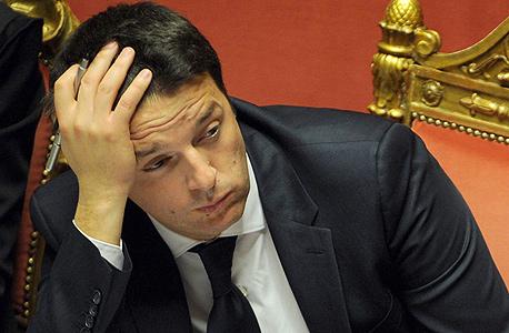 ראש ממשלת איטליה, מטיאו רנצי. בשורות לא טובות, צילום: אם סי טי
