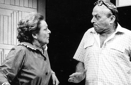 """גרבר ב""""קידוש"""" עם עדנה פלידל (1985)"""