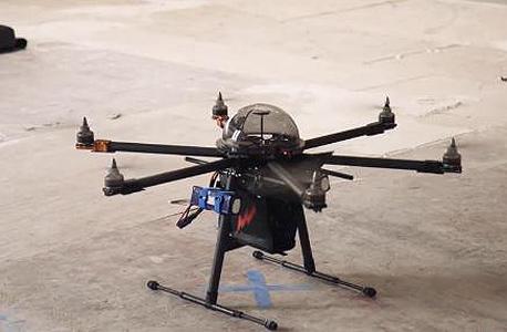 Cupid: כלב שמירה רובוטי מעופף עם נשיכה מחשמלת
