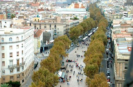 לה רמבלה בברצלונה