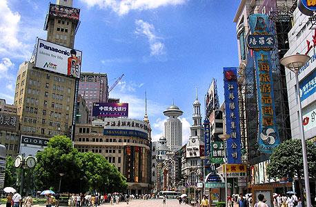 שנגחאי, סין. חבילת תמריצים קטנה שנועדה לעודד את הצמיחה