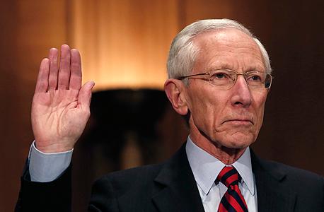 סטנלי פישר מעיד בפני הסנאט, צילום: רויטרס