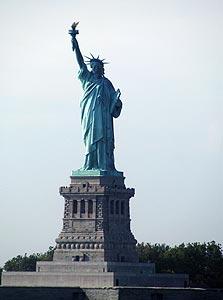 פסל החרות, ניו יורק. 710 דולר לכרטיס טיסה, צילום: יונתן קסלר