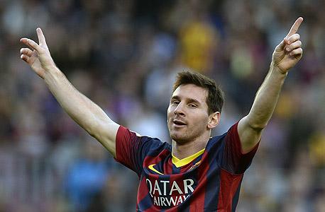 הכדורגלן ליאו מסי, צילום: איי אף פי