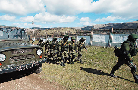 חיילים רוסים בקרים