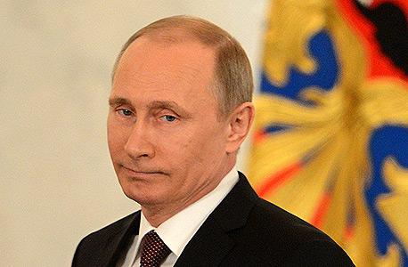 ולדימיר פוטין נשיא רוסיה משבר קרים, צילום: איי אף פי