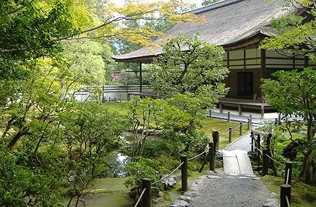 וילה עם גן נרחב בקיוטו