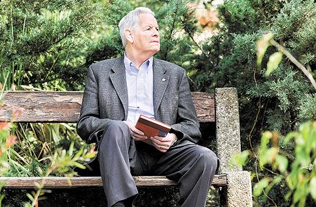 פרופ' סטבינס בישראל, בשבוע שעבר. סוציולוג במקצועו ומוזיקאי בתחביבו, שהשילוב בין השניים הוביל אותו להמציא את חקר הפנאי כתחום אקדמי