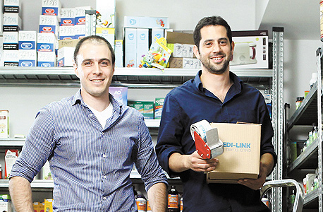 אייל חברוני (משמאל) ותמיר פורמן. תחום פעילות: אתר אינטרנטי למכירת מוצרי פארמה
