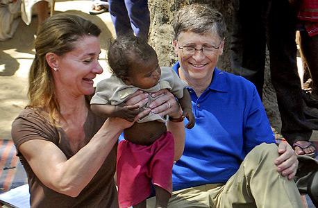 1. ביל ומלינדה גייטס: תרמו ב-2013: 2.65 מיליארד דולר. תרמו עד כה: 30.2 מיליארד דולר