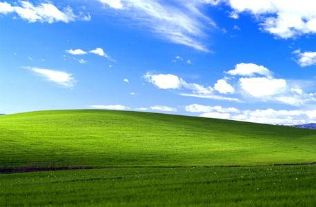 bliss, תמונת ברירת המחדל של ווינדוס XP