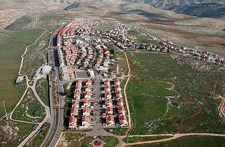 ההתנחלות גבע בנימין בסמוך לירושלים