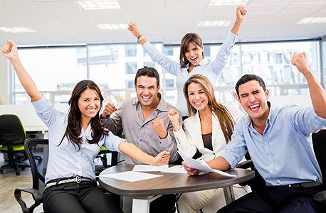 עובדים מרוצים יסייעו בגיוס עובדים חדשים, צילום: שאטרסטוק