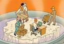 כשל שוק העבודה, איור: יזהר כהן