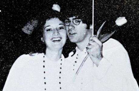 1969. עם פיטר בנשף תחפושות