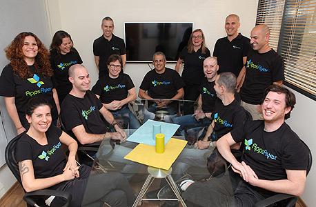 צוות AppsFlyer, צילום: עמית שעל