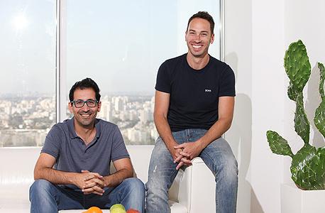 יוסי מרואני (מימין) ונועם פיין, צילום: אריאל שרוסטר