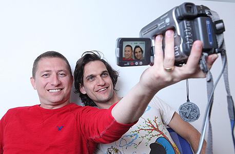 לואי אסקיאל (מימין) ובועז דרמר , צילום: עמית שעל