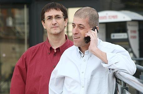 ליאור בנאי (מימין) וערן שלו, מייסדי Free Telecom