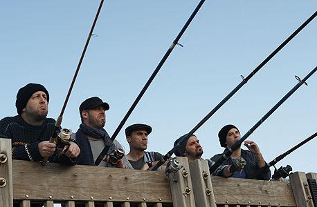 """סמנכ""""לי קראייטיב. מימין: בן סבר, ערן ניר, יורם לוי, טל פרלמוטר ושחר פילר"""