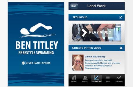 חתירה למגע: אוסף אפליקציות שחייה