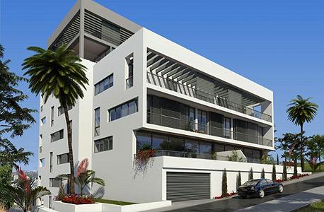 הדמיה של הפרויקט המתוכנן. מחירי דירות 4 חדרין צפויים לנוע סביב כ-3 מיליון שקל