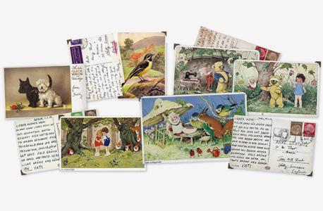 ספר הגלויות של ילדי השואה