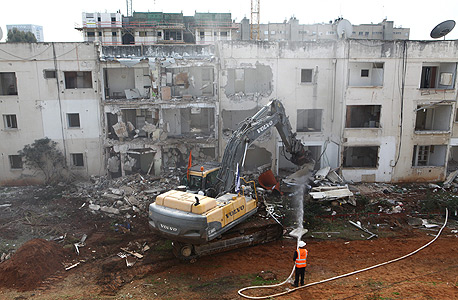 פרויקט פינוי-בינוי בשכונת נווה שרת בתל אביב