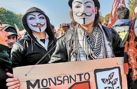 הפגנה נגד מונסנטו