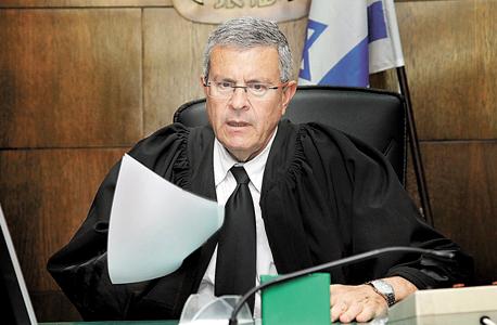 """השופט דוד רוזן. """"נוטל השוחד הוא בבחינת בוגד"""", צילום: גדעון מרקוביץ"""