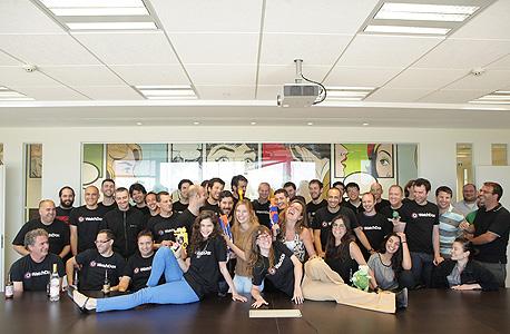 עובדי חברת Watchdox, על בסיסה הוקם מרכז הפיתוח