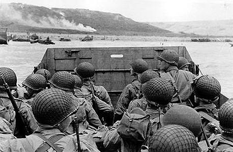 חיילים בחזית במלחמת העולם השנייה