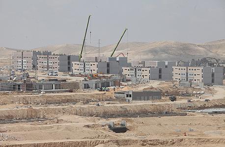 """הבנייה בעיר הבה""""דים. ראשוני החיילים יכנסו למתחם בדצמבר"""