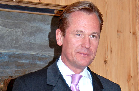 """מתיאס דופנר (Matthias Doepfner) מנכ""""ל אקסל שפרינגר, צילום: בלומברג"""